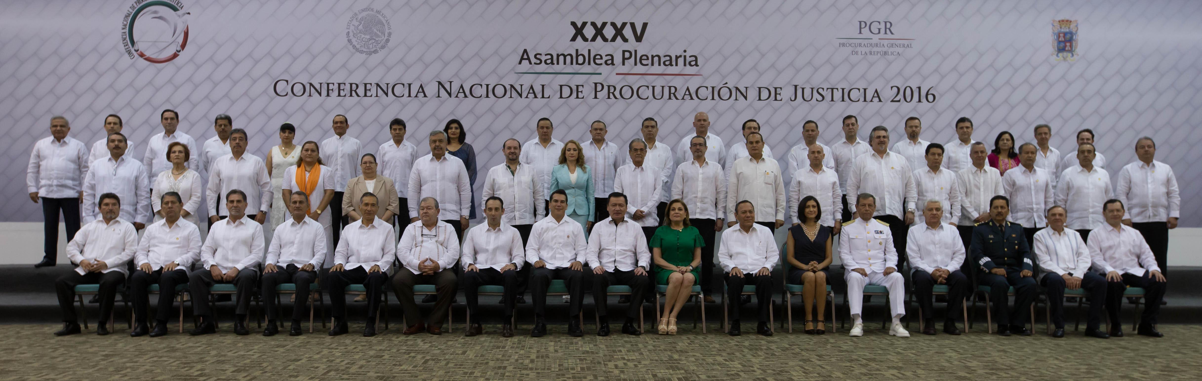 XXXV Asamblea Plenaria de la Conferencia Nacional de Procuración de Justicia
