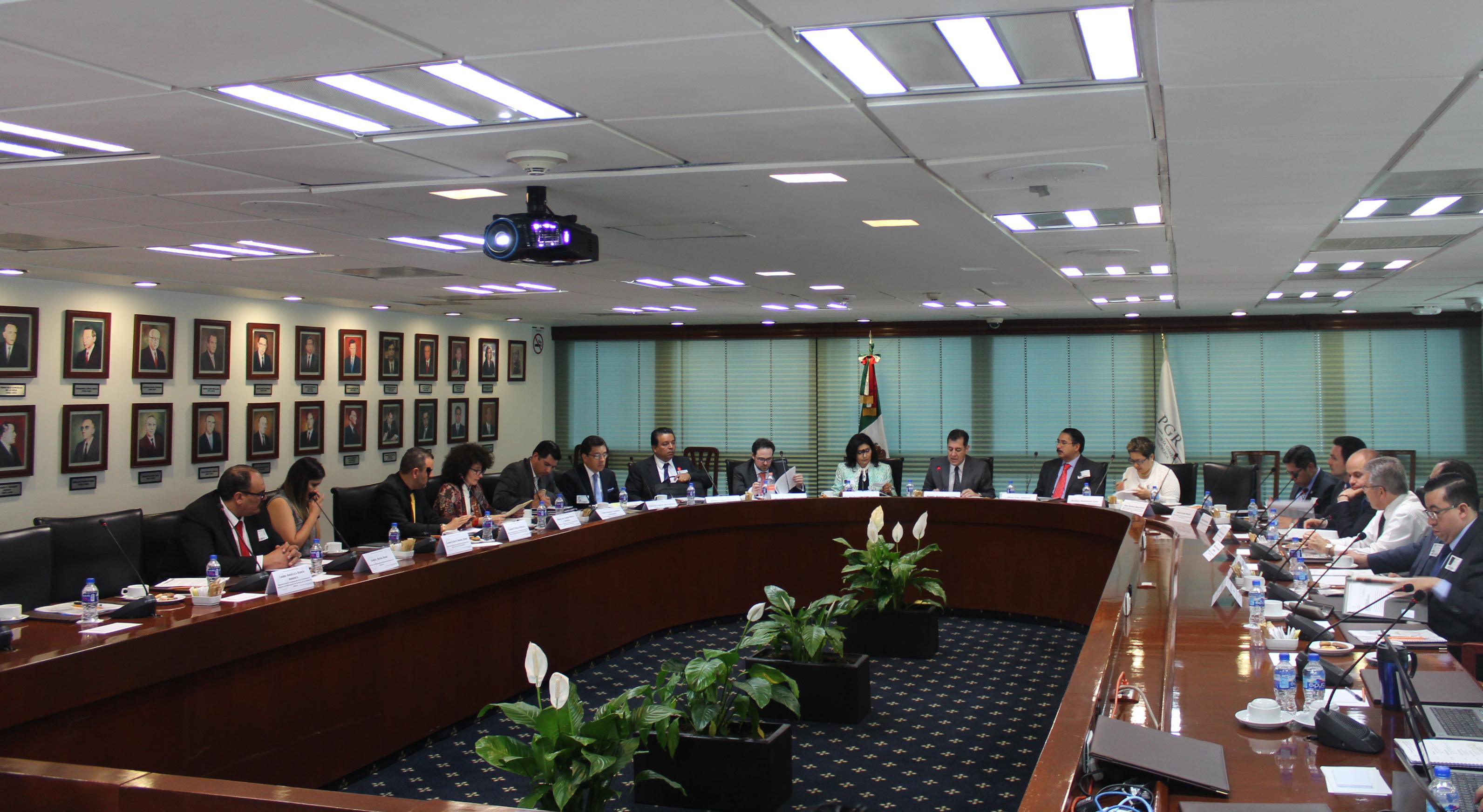 3a Sesión Ordinaria 2016 del Comité Técnico para el Sistema Penal Acusatorio