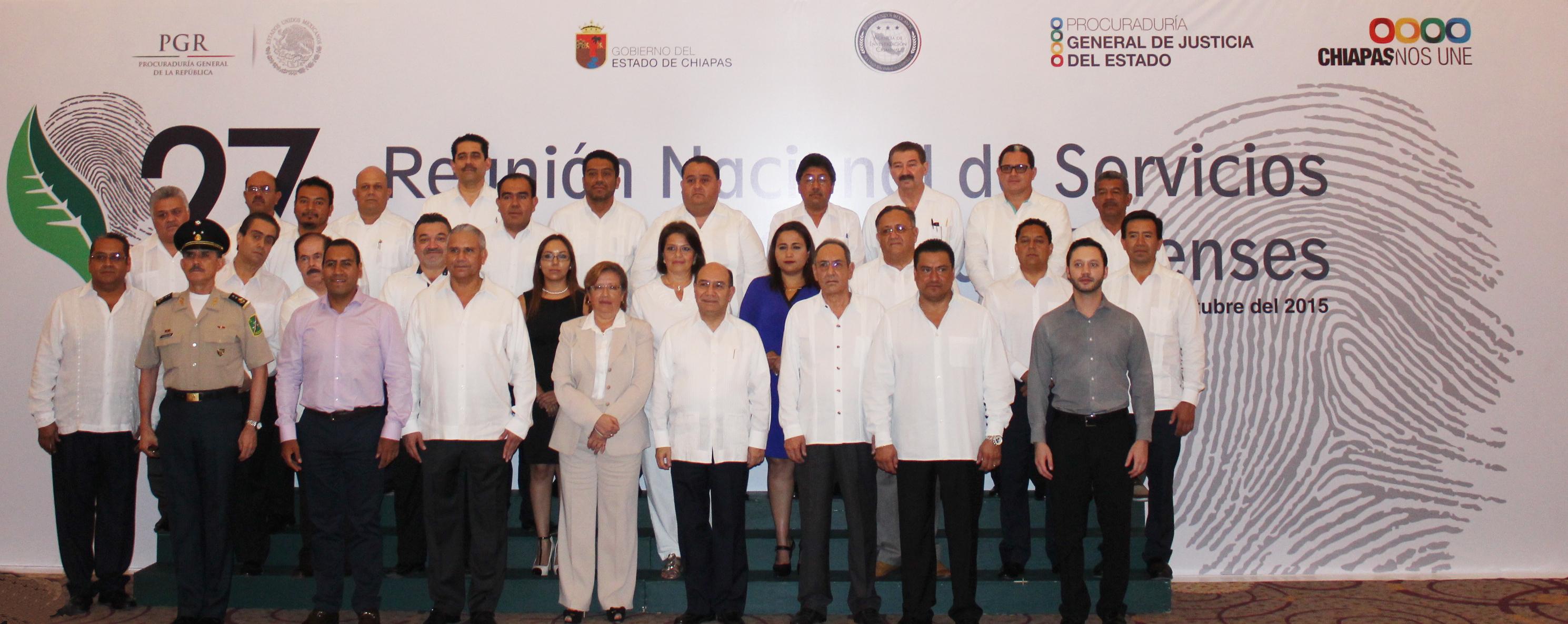 27ª Reunión Nacional de Servicios Periciales y Ciencias Forenses